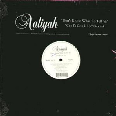 Aaliyah - Don't Know What To Tell Ya / Got To Give It Up (Remix)