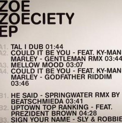 Zoe Mazah - Zoeciety EP