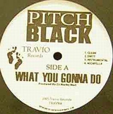 Pitch Black - What You Gonna Do / Revenge