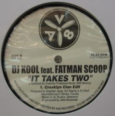 DJ Kool - It Takes Two
