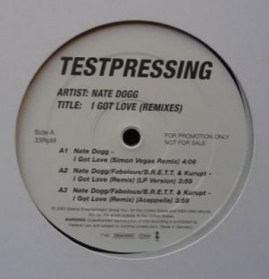 Nate Dogg - I Got Love (Remixes)