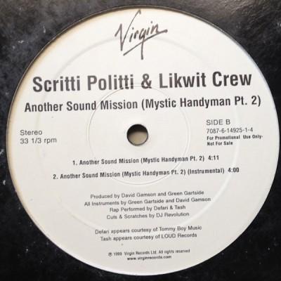Scritti Politti - Another Sound Mission (Mystic Handyman Pt 2)