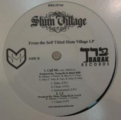 Young RJ / Slum Village - Dirty District 3 / Slum Village