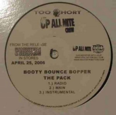 Too Short - Booty Bounce Bopper / Moven