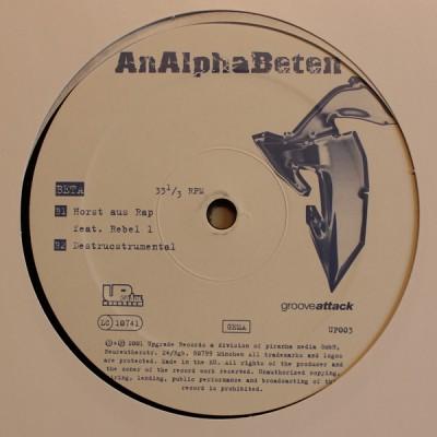 AnAlphaBeten - Alpha Cypha / Im Kreis