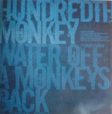Monkey Sons (Hundredth Monkey) - Water Off A Monkeys Back/Firech
