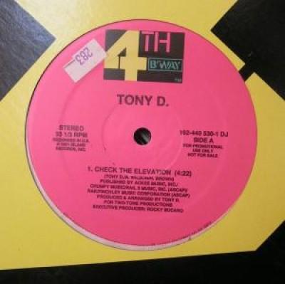 Tony D - Check The Elevation