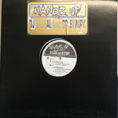 DJ Illegal & Dr. Stimpy - Handz Up Party Breakz Vol.11