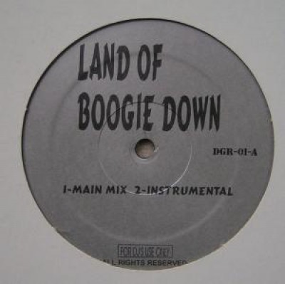 KRS-One - Land Of Boogie Down / Satisfaction