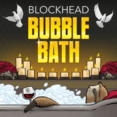 Blockhead - Bubble Bath (Blue Vinyl 2LP)