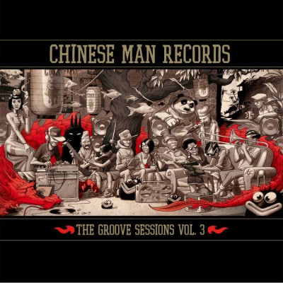 Chinese Man - The Groove Sessions Vol.3 (3LP Red Vinyl)