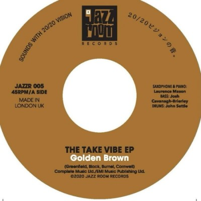 Take Vibe E.P. - Golden Brown / Walking On The Moon