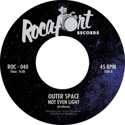 Outer Space - Not Even Light b/w Dead Planet (feat. Gemma Humet)