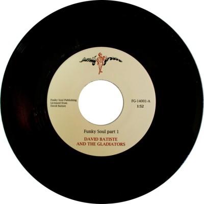 David Batiste & The Gladiators - Funky Soul Pt. 1 & 2