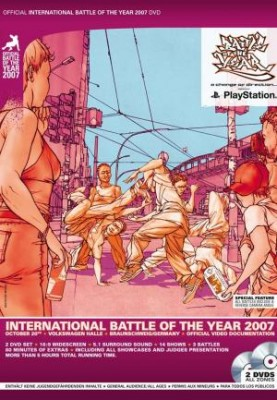 Boty (Battle Of The Year) 2007 International DVD