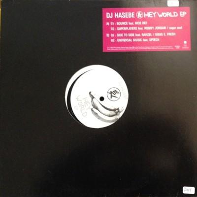 DJ Hasebe - Hey World EP