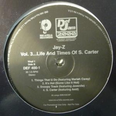 Jay-Z - Vol 3... Life And Times Of S. Carter