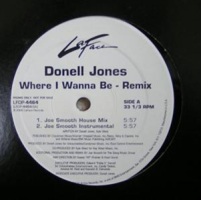Donell Jones - Where I Wanna Be (Remix)