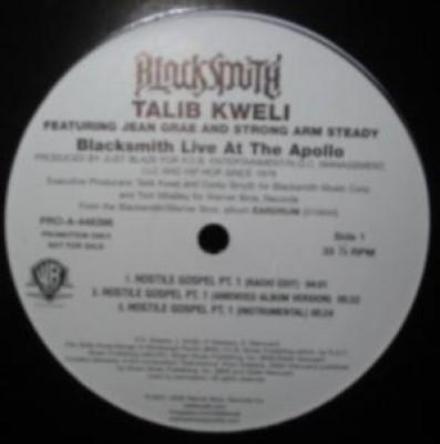 Talib Kweli - Blacksmith Live At The Apollo