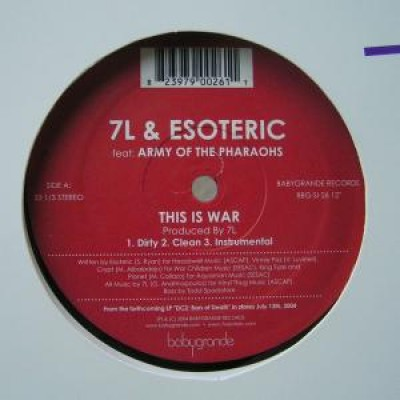 7L & Esoteric - This Is War / Rise Of The Rebel