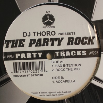 DJ Thoro - The Party Rock
