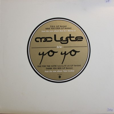 MC Lyte - T.R.G. (The Rap Game) / One For The Cuties