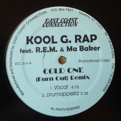 Kool G Rap - Cold One ( Burn Out ) Remix