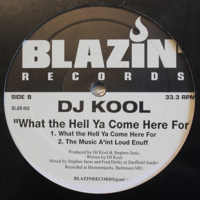 DJ Kool - Twenty Minute Workout