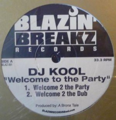 DJ Kool - Welcome To The Party