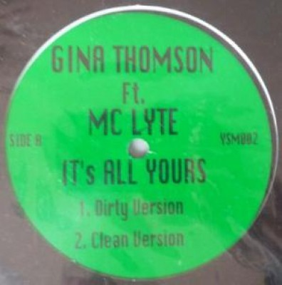 Gina Thompson - It's All Yours