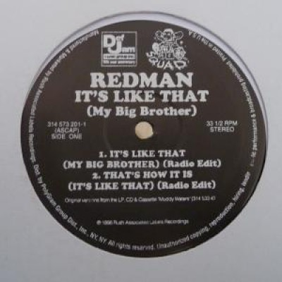 Redman - It's Like That (My Big Brother)