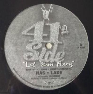 Nas - Let 'Em Hang / Crushed Linen