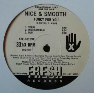 Nice & Smooth - Funky For You