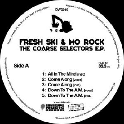 Fresh Ski & Mo Rock - The Coarse Selectors E.P.