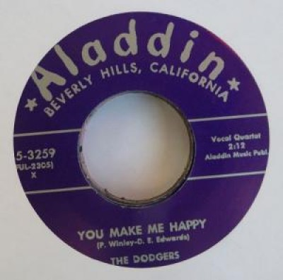 The Dodgers - You Make Me Happy / Let's Make A Whole Lot Of Love