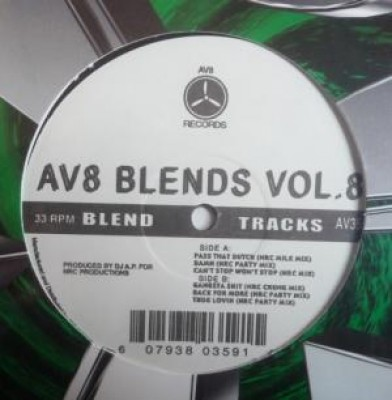 DJ A.P. - AV8 Blends Vol.8