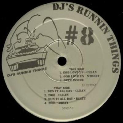 Various - DJ's Runnin Things #8