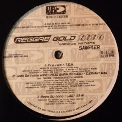 Various - Reggae Gold 2004 Sampler