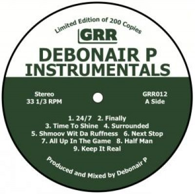 Debonair P - Instrumentals