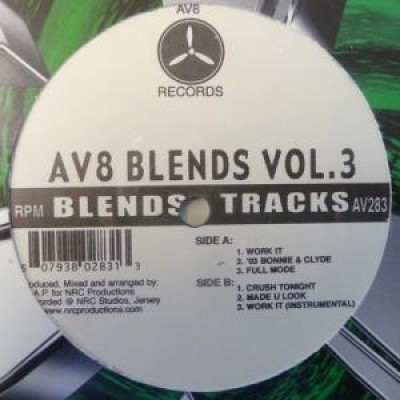 DJ A.P. - AV8 Blends Vol. 3