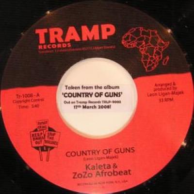 Kaleta & Zozo Afrobeat - Country Of Guns / Baba Nla Iya (Intense Suffering)