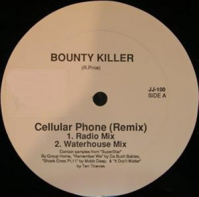 Bounty Killer - Cellular Phone (Remix)