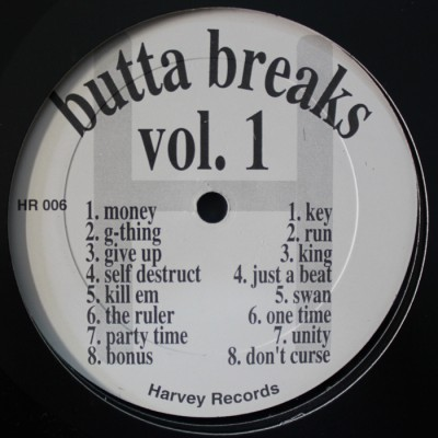 Various - Butta Breaks Vol. 1