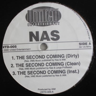 Nas - The Second Coming / We Live This