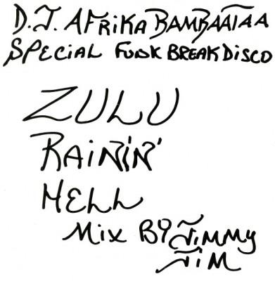 Jimmy Jim - Zulu Rainin' Hell Mix