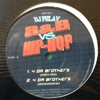 DJ Phlav - R&B vs. Hip-Hop