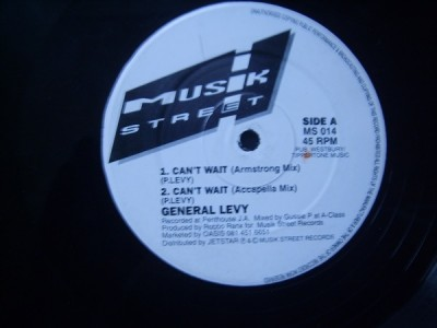General Levy - Can't Wait