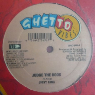 Jigsy King - Judge The Book / Dancing In The Ceiling