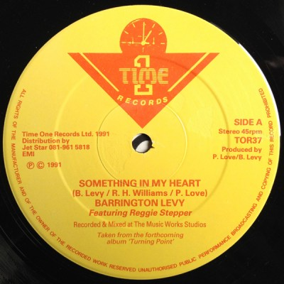 Barrington Levy - Something In My Heart