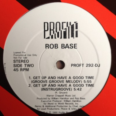 Rob Base - Get Up And Have A Good Time